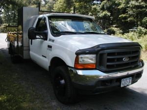 Buy used 2001 FORD F550 4X4 NO RESERVE SUPERDUTY 73 TURBO