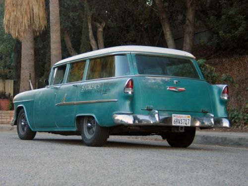 Sell Used 1955 Chevy 210 Vintage Station Wagon LS1 Avalanche V8 Original Paint In Valley Village