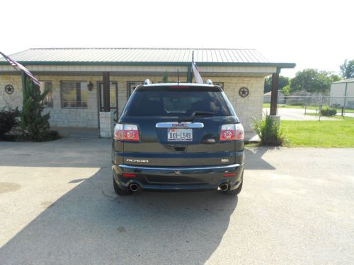 Sell Used 2011 GMC Acadia Denali Sport Utility 4 Door 36L