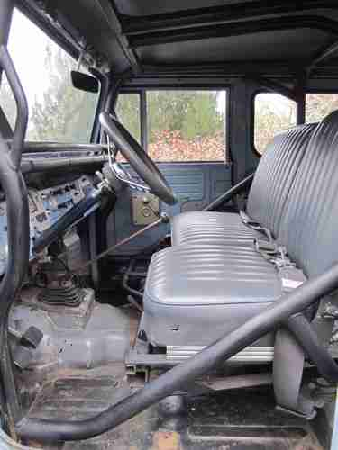1971 Fj40 Toyota Land Cruiser Gm V8 Soa Power Steering Metal Tech Roll