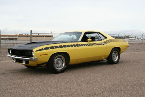 Sell Used S Matching 1970 Lemon Twist Yellow Aar Cuda