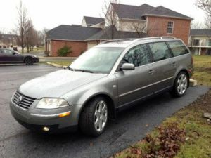 Sell used 2003 VW PASSAT 40 W8 WAGON 6 SPEED MANUAL in