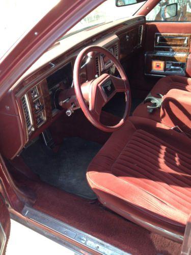 Purchase Used 91 Cadillac Fleet Wood Brougham In Bassett