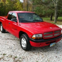 Dodge Trailer Hitch Deer Butcher Diagram Buy Used 1999 Dakota Sport Extended Cab Pickup 2-door 3.9l-red-1 Owner Calif Manual In ...