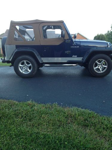 Sell Used 1997 JEEP Wrangler 4X4 Custom No Reserve In