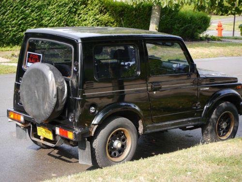 Suzuki Samurai Parts Catalog