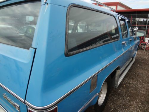 Find Used 1980 Chevrolet C10 Suburban Custom Deluxe Sport