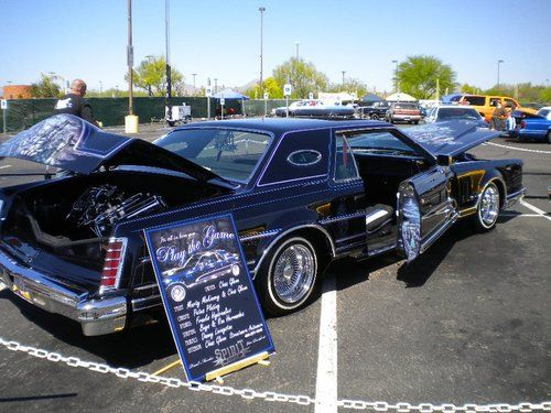 Sell used 1979 lincoln mark v custom low rider in Phoenix