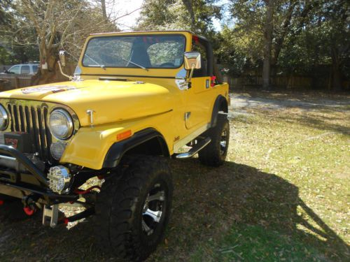 Sell used 1979 Jeep CJ CJ7 304 V8 in Pass Christian
