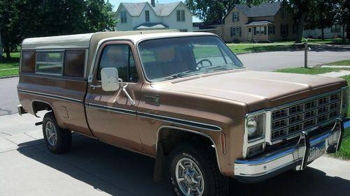 1979 Chevy Scottsdale 4x4
