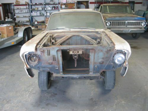 Purchase Used 64 FORD FALCON RESTORATION PROJECT GASSER