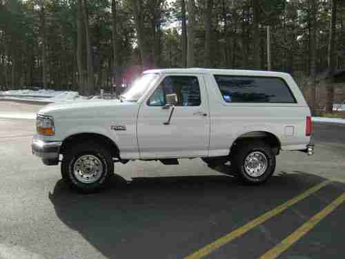 Purchase used 1995 Ford Bronco XL NICE in Colorado