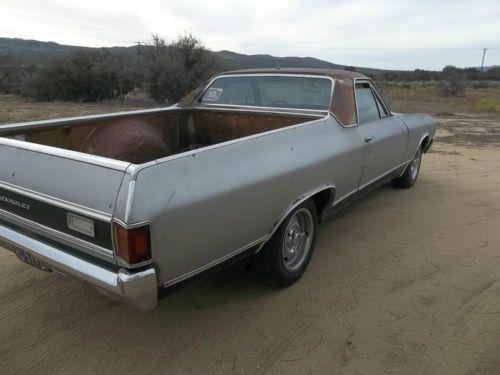 Purchase Used Original 72 Chevy El Camino California Car
