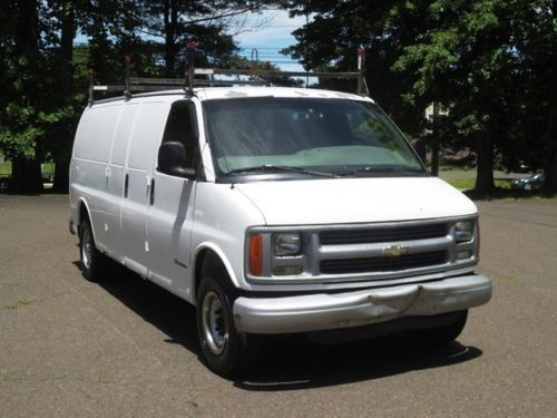 Purchase used 2001 CHEVY EXPRESS G3500 EXTENDED CARGO VAN