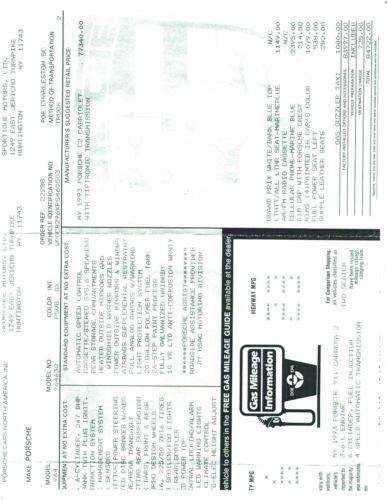 Find used 1993 Porsche 911 Carrera 2 Convertible 2-Door 3