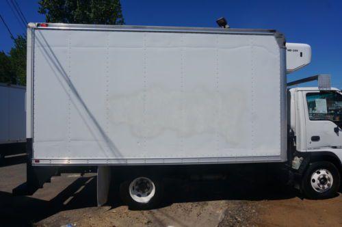 Find Used Isuzu Npr Refrigerated Box Truck Freezer Ice