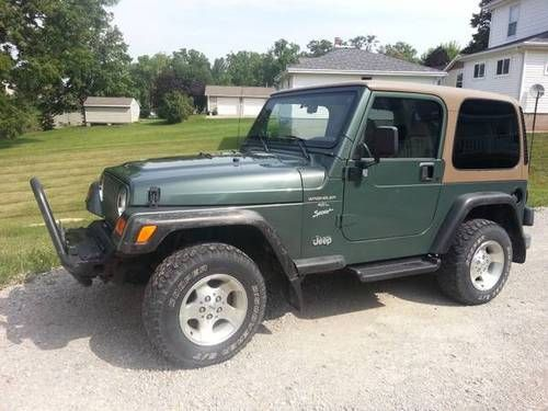 Sell used 2000 Jeep Wrangler Sport Sport Utility 2Door 4