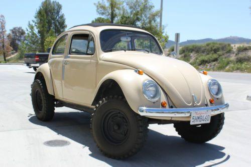 Sell Used 1969 Volkswagen Baja Beetle Street Legal Race Vw
