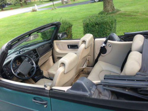 Buy Used 1992 Saab 900 Turbo Convertible 2 Door 20L LOW