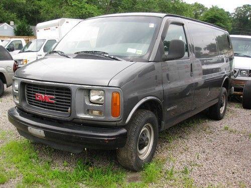 Buy used 1998 GMC 3500 SAVANA CARGO VAN TURBO DIESEL NO