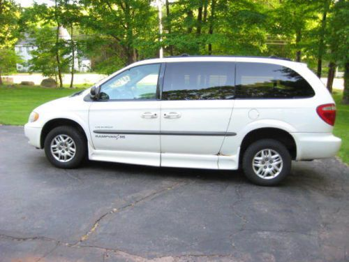 Buy used 2001 Dodge Grand Caravan Wheelchair Handicap van