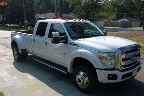 2014 Ford Super Duty Platinum