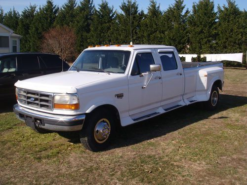 7 3 powerstroke wiring diagram for smoke detectors sell used 1997 ford f 350 xlt crew cab dually diesel