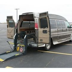 Wheelchair Express Havertys Dining Room Chairs Sell Used 2000 Chevy Handicap Accessible Conversion Van Rear Lift