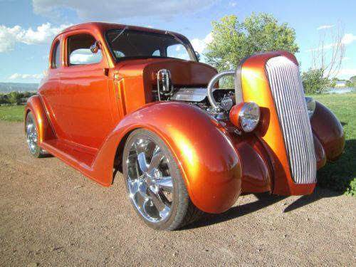 Orange Vehicle Paint Color