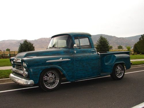Find Used 1958 Chevy Apache 1 2 Ton Pickup Truck Street