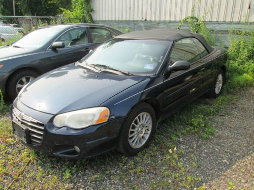 2005 Chrysler Sebring Convertible Black