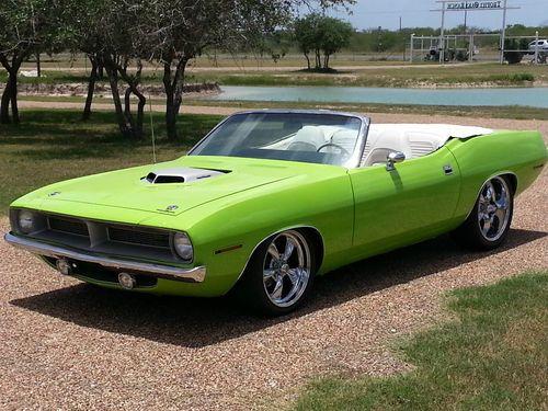 Sell New 1970 Hemi Cuda Convertible Barracuda Sublime