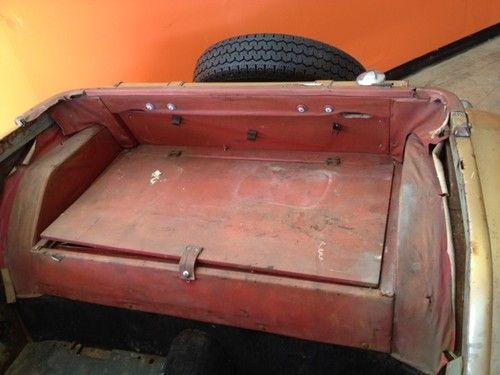 Buy used 1955 MG TF 1500 in El Dorado Hills California