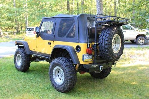 2005 Jeep Wrangler Suspension