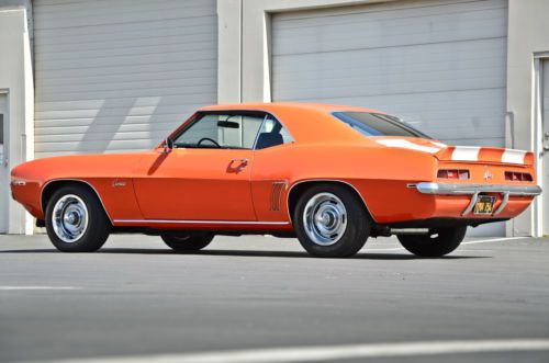 Buy Used 1969 Chevy Camaro Z28 Matching Numbers Drivetrain