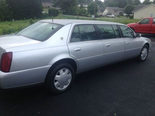 Find Used 2002 Cadillac Limo S Amp S 6 Door Silver Funeral Car