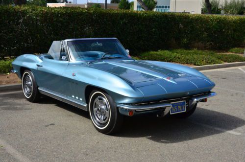 Sell Used 1966 Corvette Convertible Ncrs Award Winning 1