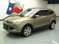 Find used 2013 FORD ESCAPE SEL ECOBOOST HTD LEATHER ROOF ...