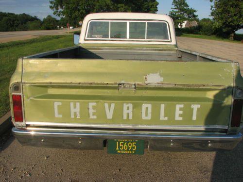 1969 Chevrolet Tailgate Diagram