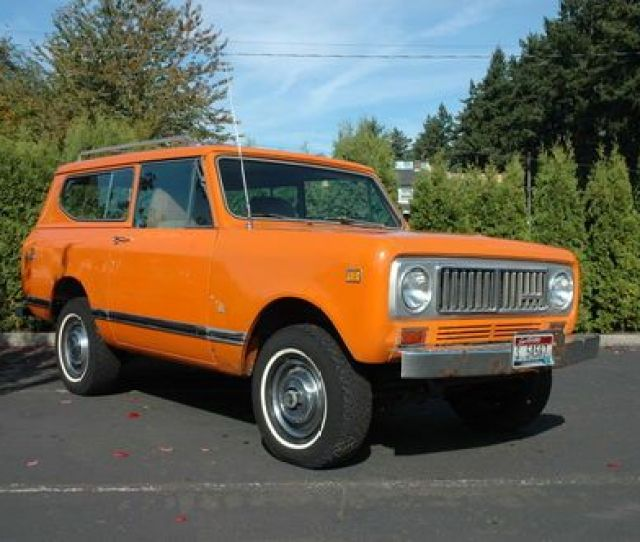 1974 International Scout Ii Project No Rust No Reserve