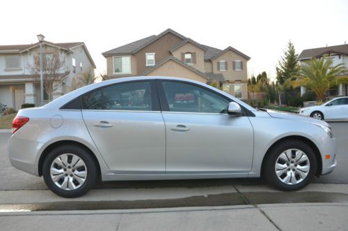 Sell Used 2013 Chevy Cruze Lt Turbo Grey 11k Miles Grey