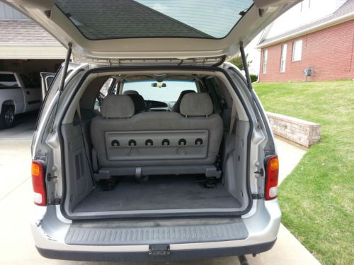 which suvs have captains chairs oversized chair and ottoman sell used 2003 ford windstar lx mini passenger van 4-door 3.8l in claremore, oklahoma, united ...