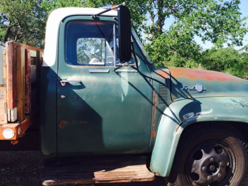 Ac Fan Wiring Purchase Used 1955 Ford F600 Truck With Hydraulic Dump Bed