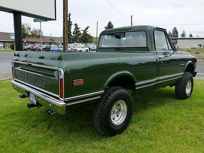 Purchase Used Beautiful 1972 Chevrolet C 10 Short Box 4x4