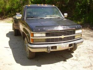 Purchase used 1993 Chevy Diesel Dually in Decatur, Illinois, United States, for US $2,50000