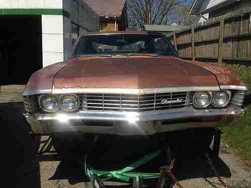 1967 Chevy Impala 4 Door Black
