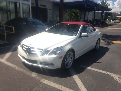 Find Used 2012 Mercedes Benz E350 Cabriolet Diamond White