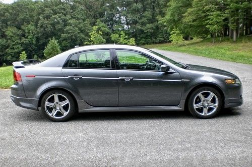 Find Used 2004 Acura TL W A SPEC Package Charcoal Gray