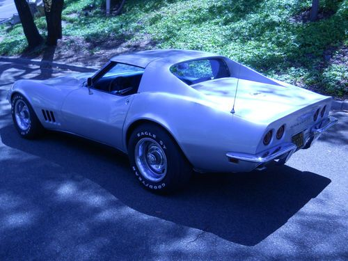 Find used 1968 Chevrolet Corvette TTop Removable Rear