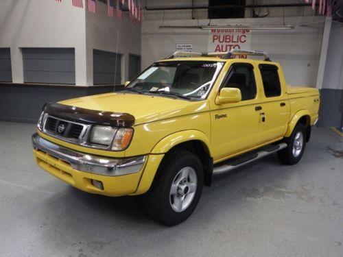 Find Used 2000 Nissan Frontier Se Crew Cab Pickup 4 Door 3